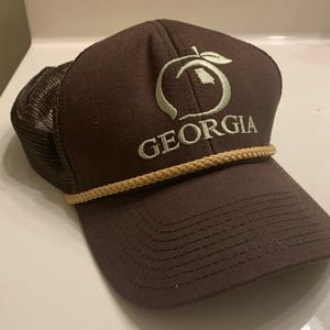 Peach State Pride - Georgia Mesh Back Trucker Hat